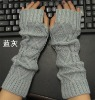 fashion acrylic knitted glove without finger (MSH0034)