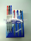 attractive transparent ball pens