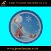 20cm X'mas design melamine round saucer