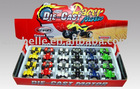 Die cast friction motorbike 12pcs