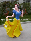 fiberglass snow white statue