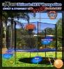 BFT-04/Round trampoline with enclosure