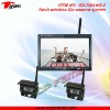RV-7001WS-2 2.4GHz wireless car rearview system with LED screen & CMOS camera
