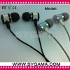 2011 stereo In-ear earphone for Ipad