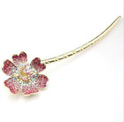 Fancy Fashion Colored Flower Hair Stick