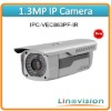 Wholesale the most competitive 1.3Mp CCD HD Water-proof IR Network Camera, IPC-VEC863F-IR