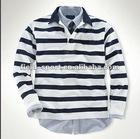 Spring New Men's Long Sleeve polo Tee Shirt --100% cutton