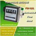 mechanical diesel oil flowmeter with 4 digital subtotal, 8 digital in total