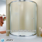 High quality curved shower door