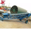 rubber belt conveyor - organic fertilizer equipment