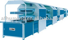 Double layer enclosed type sole attaching production line\shoe making machine