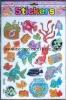 animal puffy sticker