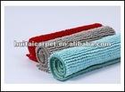 colorful microfiber ati-slip chenille rug