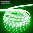 1 Meter 60 Bulbs Waterproof LED Bare Board Light Belt 12V 3825 Multi-functional Light Bar - Green