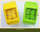 stock ion silicone watch with Christmas promotion price