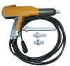 manual high voltage electrostatic powder coating spray gun