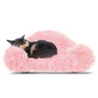 Luxury heart pet bed