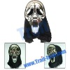 Funny Silver Plated Horrible Face Style Mask For The Coming Halloween