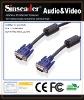 15 pins SVGA SUPER VGA M/ M Cable for PC TV