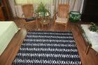 Home textile raschel printed home mat