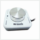 White NEW USB My Music Sound Blaster usb 7.1 channel optical sound card