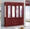 MDF classic home furniture wooden wine set B851#