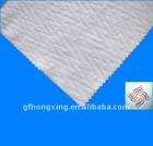 factory direct soft nice white W design 100% polyester nonwoven fabric