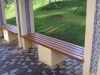 long leisure bench