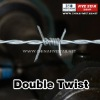 ISO 9000:2008 Galvanized Double Twist Barbed Wire ( High Credit Standing )