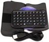 Mini Bluetooth Wireless Keyboard with Leather Pouch and Holder