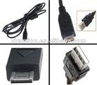 USB Cable For Panasonic DMC-ZS1 DMC-ZS3 DMC-ZX1 DMC-TZ7 Data Transfer
