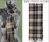Man Check Winter Scarf,Cashmere Scarf