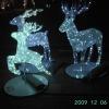 LED Christmas reindeer motif light/LED white deer/LED Christmas reindeer light