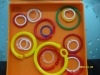 Color Plastic O- rings