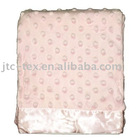 Katie Little Luxury Dot Blanket - Pink