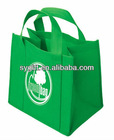fashion promotion eco green non woven tote bag