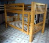 Wooden Bunk Bed/Bunk Bed/Bedroom Furniture/Pine Bed