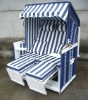 JUMBO rattan beach chair&beach chair&wicker roofed beach chair&strandkorb&beach house&