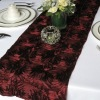 Fashion embroidered satin table runner for weddings