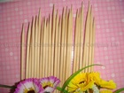 4.0x300mm strong MAO bamboo disposable skewers for BBQ