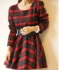 2013 latest design women winter dress