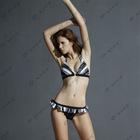 O-Kiss brand lively young girl bikini swimwear with skirt