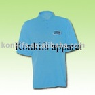 Polyester Dry fit Breathable Tennis Polo T Shirt