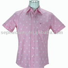 Men's Shirt With 100% Cotton Plain White Fabric And Fancy Inside Collar And Cuff