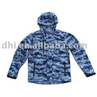 printed men's softshell jacket, outdoor active sportswear and outdoor wear