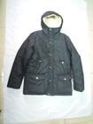 Wholesale & Retail Boys Hooded Down Coat/jacket--Gray