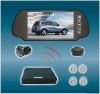 Video + Wireless + Rearview Parking Sensor System+MP5
