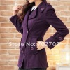 plus size wome fashion wool suit