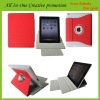 leather Case for ipad 2 the new iPad 3 with sleeping function