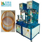 Clear Cylindrical Box Making For Bottom Welding, Clear cylindrical Box bottom Welding machine